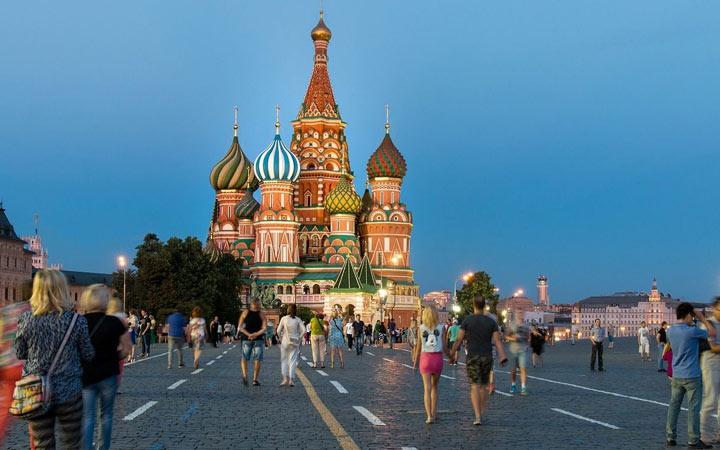 Города-миллионники России в 2020 году - Москва