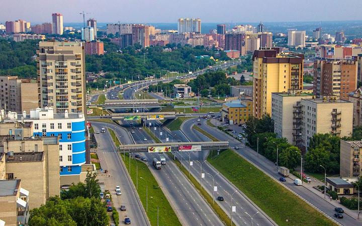 Города-миллионники России в 2020 году - Новосибирск