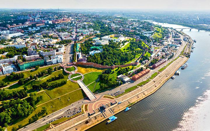 Города-миллионники России в 2020 году - Нижний Новгород