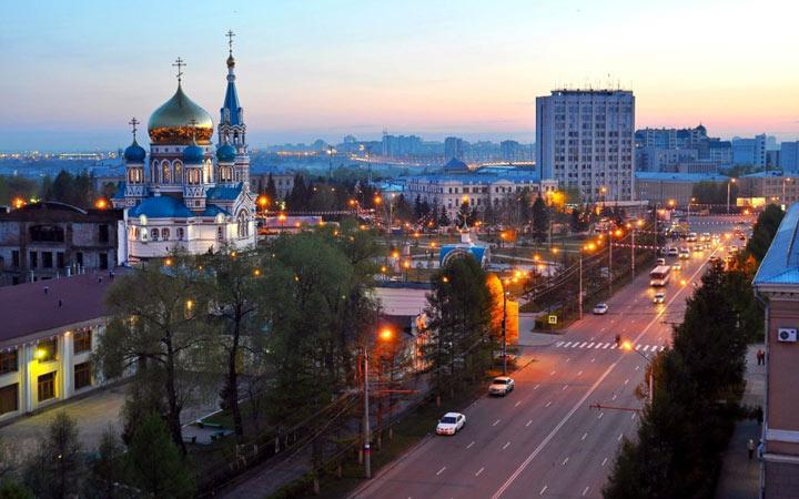 Города-миллионники России в 2020 году - Омск