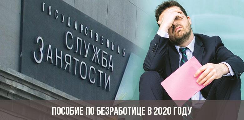 Пособие по безработице в 2020 году
