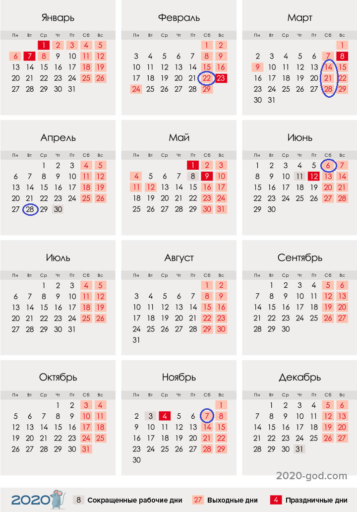 Даты родительских суббот в 2020 году