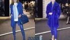 Классический синий в модных луках 2020 года