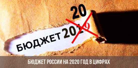 Бюджет России в 2020 году