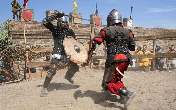 Рыцарский турнир в Крыму в 2020 году