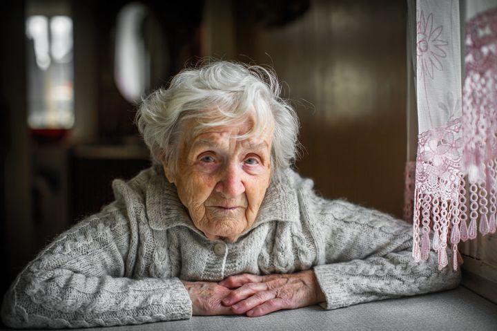 Женщина-пенсионер